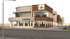 canteen building architecture